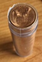 1946 S LINCOLN WHEAT CENT ROLL - B/U RED