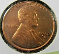 1942 D EARLY LINCOLN CENT,  42DT3
