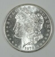 1878-S MORGAN DOLLAR  BRILLIANT UNCIRCULATED SILVER DOLLAR
