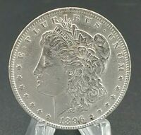 1896 MORGAN SILVER DOLLAR 90 SILVER $1 COIN US UNCIRCULATED GREAT EYE APPEAL 1