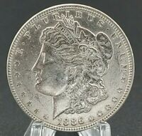 1886 MORGAN SILVER DOLLAR 90 SILVER US COIN UNCIRCULATED GREAT EYE APPEAL 2