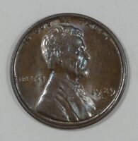 1929-D LINCOLN/WHEAT EARS REVERSE CENT  BROWN UNC 1C