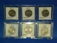 2013 P ATB QUARTER   NV   GREAT BASIN / DOUBLED DIE REVERSE /SET ALL 6 WDDRS