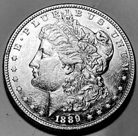 1889 S MORGAN DOLLAR CHOICE BU 2