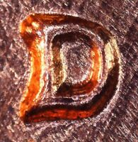 1959 D LINCOLN MEMORIAL CENT   REPUNCHED MINT MARK   1MM 069  D/D ROTATED CCW