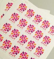 1000 USPS HEARTS BLOSSOMS FOREVER STAMPS 50 PANES OF 20 FIRST CLASS MAIL POSTAGE