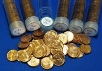 1966 LINCOLN MEMORIAL CENTS   BU   6 TUBED ROLLS