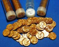 1961 P LINCOLN MEMORIAL CENTS   BU   4 TUBED ROLLS