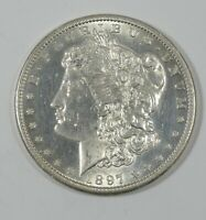 1897-S MORGAN DOLLAR ALMOST UNC SILVER DOLLAR