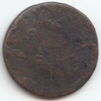 COPPER NEW JERSEY CENT 1786 1788 LOW GRADE TRUE AUCTION NO R