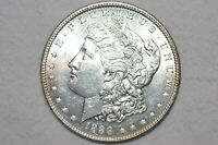 1888 $1 MORGAN SILVER DOLLAR UNCIRCULATED WITH  LUSTER, HIGHER GRADE