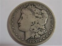 1903 S MORGAN SILVER DOLLAR  PROBLEM FREE COIN LOW MINTAGE COIN