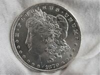 1879-S MORGAN SILVER DOLLAR BU UNCIRCULATED MIRROR LIKE WITH REVERSE TONING
