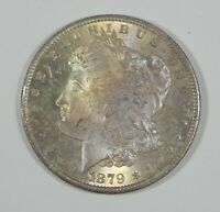 1879-S MORGAN SILVER DOLLAR CHOICE TONED UNCIRCULATED