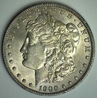 1900 MORGAN SILVER DOLLAR $1 US COIN PHILADELPHIA MINTED UNCIRCULATED TONED