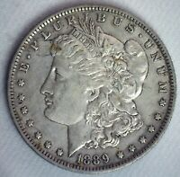 1889 O MORGAN SILVER DOLLAR $1 US COIN EXTRA FINE CIRCULATED NEW ORLEANS MINTED
