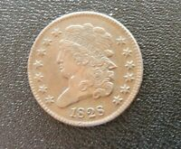 1828 U.S. HALF CENT UNCIRCULATED