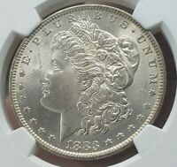1883-O MORGAN SILVER DOLLAR $1 NGC MINT STATE 64 TONED GORGEOUS