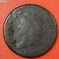 1808 CLASSIC HEAD LARGE CENT  FREE S/H AFTER 1ST ITEM