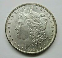 1900 P MORGAN SILVER DOLLAR