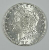 1881-O MORGAN SILVER DOLLAR BRILLIANT UNCIRCULATED