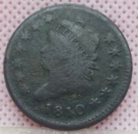 1810 CLASSIC HEAD LARGE CENT ONE CENT