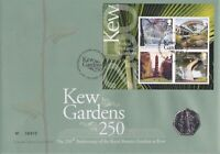 KEW GARDENS 50P COIN MINT CONDITION ROYAL MAIL EXHIBITION CO