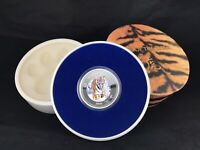 YEAR OF THE TIGER 2010 1OZ SILVER COLORED PITCAIRN ISLANDS $