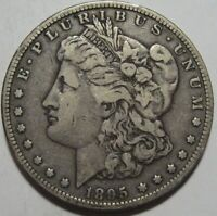 1895-O VF MORGAN DOLLAR,  DETAILS & EYE APPEAL, SHIPS FREE