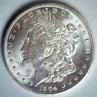 1904 O MORGAN SILVER DOLLAR COIN UNCIRCULATED $1 US NEW ORLEANS MINTED DOLLAR