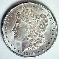1902 O MORGAN SILVER DOLLAR $1 US COIN BRILLIANT UNCIRCULATED NEW ORLEANS MINTED