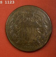 1872 TWO-CENT PIECE