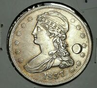 1837 CAPPED BUST HALF DOLLAR CIRCULATED CONDITION