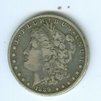 1889-CC  MORGAN SILVER DOLLAR--CIRCULATED