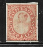 HICK GIRL USED U.S. LOCAL POST   SC117L5  1844  POMEROYS LET