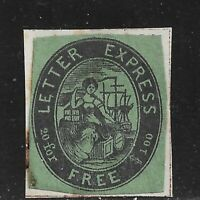 HICK GIRL USED U.S. LOCAL POST  SC96L2 1844  LETTER EXPRESS