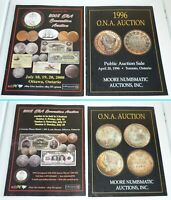 LOT OF 4 CANADIAN AUCTION CATALOGS BETWEEN 1996 2012