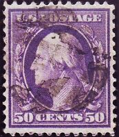 US 341 VIOLET W/ FANCY CANCEL. VERY WELL CENTERED. CHOICE