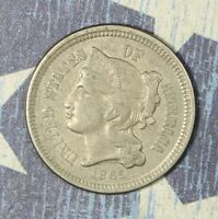 1865 THREE CENT NICKEL COLLECTOR COIN SHIPS FREE
