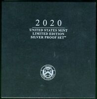 2020 S UNITED STATES MINT LIMITED EDITION SILVER PROOF SET W