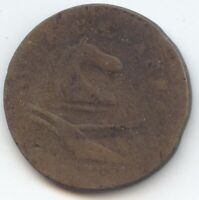 1786 1788  NEW JERSEY COLONIAL CENT LOW GRADE TRUE AUCTION