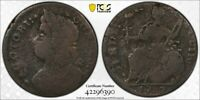 1787 PCGS G06 DRAPED BUST LEFT CONNECTICUT WITH A TRUEVIEW