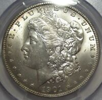 1901-O PCGS MINT STATE 63 MORGAN DOLLAR, CERTIFIED, SHIPS FREE