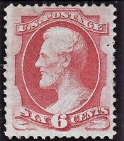 US 137A CARMINE. MINT RG. CLEAR COMPLETE