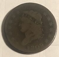 1809 CLASSIC HEAD LARGE CENT,  VG,