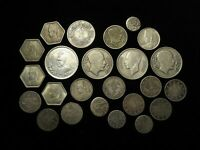 ISLAMIC & MIDDLE EASTERN COLLECTION OF 24X COINS MOSTLY SILV