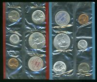 1962 P & D UNITED STATES UNCIRCULATED MINT COIN SET  CP705
