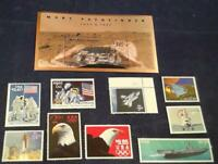 US LOT OF 10 HIGH VALUE STAMPS INC 2544A & 2541 NO DUPLICATI