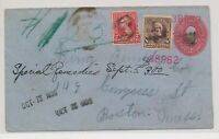 LO35307 USA 1899 TO BOSTON GOOD COVER USED