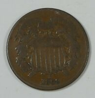 1869 TWO-CENT PIECE  GOOD 2-CENTS